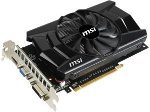 MSI GeForce GTX 750 Ti DirectX 11.2 N750TI-2GD5/OC Video Card