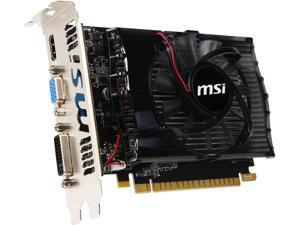 MSI N730-2GD3-R GeForce GT 730 2GB 128-Bit DDR3 PCI Express 2.0 HDCP Ready Video Card Certified Refurbished