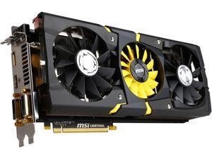 MSI Radeon R9 290X DirectX 11.2 R9 290X LIGHTNING LE 4GB 512-Bit GDDR5 PCI Express 3.0 HDCP Ready CrossFireX Support ATX Video Card