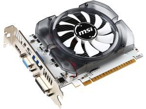 MSI GeForce GT 730 DirectX 12 N730-4GD3V2 4GB 128-Bit DDR3 PCI Express 2.0 x16 HDCP Ready ATX Video Card