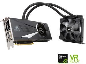 MSI GeForce GTX 1080 DirectX 12 GTX 1080 SEA HAWK X 8GB 256-Bit GDDR5X PCI Express 3.0 x16 HDCP Ready SLI Support ATX Video Card