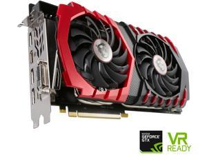 MSI GeForce GTX 1080 DirectX 12 GTX 1080 GAMING X 8G 8GB 256-Bit GDDR5X PCI Express 3.0 x16 HDCP Ready SLI Support ATX Video Card