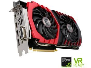 MSI GeForce GTX 1080 DirectX 12 GTX 1080 GAMING 8G 8GB 256-Bit GDDR5X PCI Express 3.0 x16 HDCP Ready SLI Support ATX Video Card
