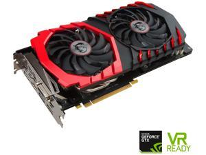 MSI GeForce GTX 1060 DirectX 12 GTX 1060 GAMING X 6G 6GB 192-Bit GDDR5 HDCP Ready ATX Video Card