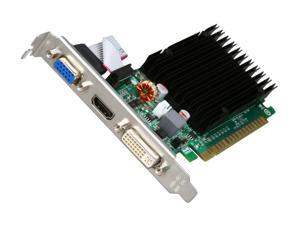 EVGA GeForce 8400 GS DirectX 10 512-P3-1301-KR 512MB 32-Bit DDR3 PCI Express 2.0 x16 HDCP Ready Low Profile Ready Video Card