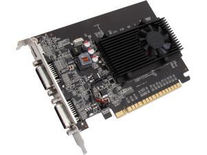 EVGA GeForce GT 610 DirectX 12 (feature level 11_0) 01G-P3-2616-KR 1GB 64-Bit DDR3 PCI Express 2.0 x16 HDCP Ready Video Card