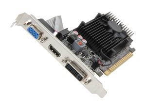 EVGA GeForce GT 610 DirectX 12 (feature level 11_0) 02G-P3-2619-KR 2GB 64-Bit DDR3 PCI Express 2.0 x16 HDCP Ready Video Card