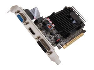 EVGA GeForce GT 610 DirectX 12 (feature level 11_0) 01G-P3-2615-KR 1GB 64-Bit DDR3 PCI Express 2.0 x16 HDCP Ready Video Card