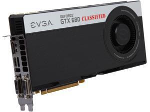 EVGA GeForce GTX 680 DirectX 11 04G-P4-3688-RX 4GB 256-Bit GDDR5 PCI Express 3.0 x16 HDCP Ready SLI Support Video Card