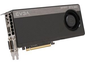 EVGA GeForce GTX 660 DirectX 11 02G-P4-2668-RX 2GB 192-Bit GDDR5 PCI Express 3.0 x16 HDCP Ready SLI Support Video Card
