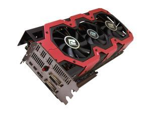 PowerColor AX7990 6GBD5-A2DHJ DEVIL13 Radeon HD 7990 6GB 384-bit x2 GDDR5 PCI Express 3.0 x16 HDCP Ready CrossFireX Support Video Card