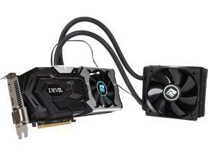 PowerColor DEVIL Radeon R9 390X DirectX 12 AXR9 390X 8GBD5-ADHV2E 8GB 512-Bit GDDR5 PCI Express 3.0 CrossFireX Support ATX Video Card