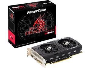 PowerColor RED DRAGON Radeon RX 460 DirectX 12 AXRX4604GBD5-DHV2/OC 4GB 128-Bit GDDR5 PCI Express 3.0 CrossFireX Support ATX Video Card
