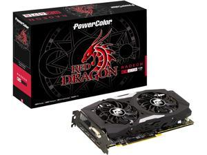 PowerColor RED DRAGON Radeon RX 470 DirectX 12 AXRX4704GBD5-3DHD/OC 4GB 256-Bit GDDR5 PCI Express 3.0 CrossFireX Support ATX Video Card