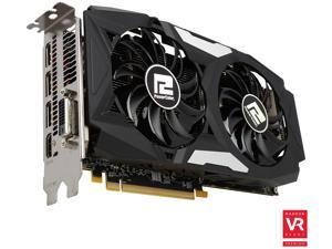 PowerColor Radeon RX 480 DirectX 12 AXRX 480 8GBD5-3DHD 8GB GDDR5 PCI Express 3.0 CrossFireX Support ATX Video Cards