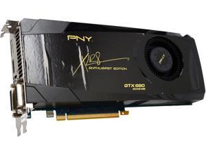 PNY GeForce GTX 680 DirectX 11 RVCGGTX680XXB 2GB 256-Bit GDDR5 PCI Express 3.0 x16 HDCP Ready SLI Support Video Card