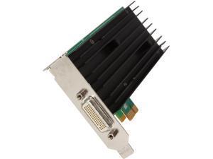 NVIDIA Quadro NVS 290 VIDEO-NVS290-1X 256MB 64-bit DDR2 PCI Express x1 Workstation Video Card With DMS-59 Dual DVI Y-Splitter ...