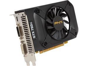 PNY GTX 700 GeForce GTX 750 Ti DirectX 11.2 VCGGTX750T2XPB 2GB 128-Bit GDDR5 PCI Express 3.0 x16 Plug-in Card Video Card