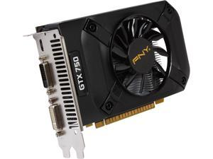PNY VCGGTX7501XPB GeForce GTX 750 1GB 128-Bit GDDR5 PCI Express 3.0 x16 Video Card