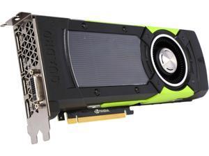 """PNY Quadro M6000 VCQM6000-PB 12GB 384-bit GDDR5 PCI Express 3.0 x16 10.5"""" x 4.4"""", Dual Slot Workstation Video Card"""