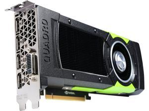 PNY Quadro M6000 VCQM6000-24GB-PB 24GB 384-bit GDDR5 PCI Express 3.0x16 Dual Slot Workstation Video Card