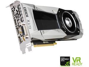 PNY GeForce GTX 1080 Founders Edition 8GB GDDR5X PCI Express 3.0 Graphics Card VCGGTX10808PB-CG