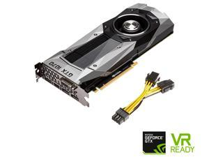 PNY GeForce GTX 1070 Founders Edition 8GB GDDR5 PCI Express 3.0 Graphics Card VCGGTX10708PB-CG