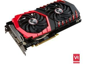 MSI Radeon RX 480 DirectX 12 RX 480 GAMING X 4G 4GB 256-Bit GDDR5 PCI Express 3.0 x16 HDCP Ready CrossFireX Support ATX Video Card