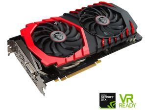 MSI GeForce GTX 1060 DirectX 12 GTX 1060 GAMING X 3G 3GB 192-Bit GDDR5 PCI Express 3.0 x16 HDCP Ready ATX Video Card