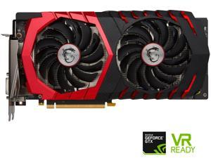 MSI GeForce GTX 1060 DirectX 12 GTX 1060 GAMING 3G 3GB 192-Bit GDDR5 PCI Express 3.0 x16 HDCP Ready ATX Video Card