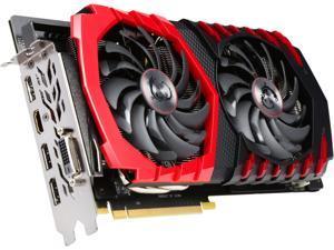 MSI GeForce GTX 1060 DirectX 12 GTX 1060 GAMING 3G 3GB 192-Bit GDDR5 PCI Express 3.0 x16 HDCP Ready ATX Video Card