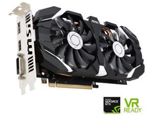 MSI GeForce GTX 1060 DirectX 12 GTX 1060 3GT OC 3GB 192-Bit GDDR5 PCI Express 3.0 x16 HDCP Ready ATX Video Card