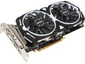 MSI Radeon RX 470 DirectX 12 Radeon RX 470 ARMOR 4G OC 4GB 256-Bit GDDR5 PCI Express 3.0 x16 HDCP Ready CrossFireX Support Video Card