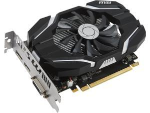 MSI GeForce GTX 1050 DirectX 12 GTX 1050 2G OC 2GB 128-Bit GDDR5 PCI Express 3.0 x16 HDCP Ready ATX Video Card