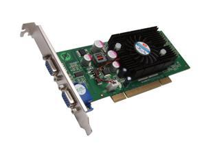 JATON GeForce 6200 DirectX 9 Video-348PCI-TWIN 512MB 64-Bit DDR2 PCI 2.1 Video Card