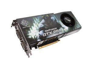 BFG Tech GTX GeForce GTX 260 DirectX 10 BFGEGTX260896OCXE 896MB 448-Bit GDDR3 PCI Express 2.0 x16 HDCP Ready SLI Support Video Card