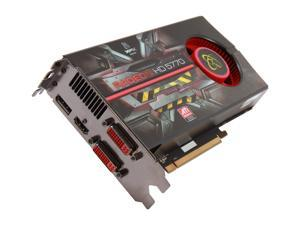 XFX Radeon HD 5770 DirectX 11 HD 577A ZNFR 1GB 128-Bit GDDR5 PCI Express 2.1 x16 Video Card