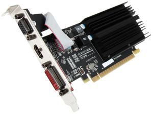 XFX One R-Series Radeon HD 5450 DirectX 11 ON-XFX1-PLS2 1GB 64-Bit DDR3 PCI Express 2.1 HDCP Ready Low Profile Ready Plus Edition Video Card