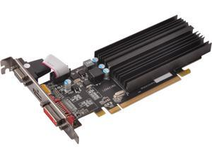 XFX Radeon HD 6450 DirectX 11 HD-645X-ZQHP 1GB 64-Bit GDDR3 PCI Express 2.1 CrossFireX Support Low Profile Video Card