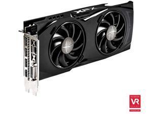 XFX Radeon RX 480 DirectX 12 RX-480P8DBA6 8GB 256-Bit GDDR5 PCI Express 3.0 CrossFireX Support GTR Black Edition Video Card