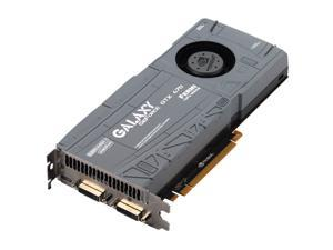 Galaxy GeForce GTX 470 (Fermi) 70XKH3HS8GUX Video Card