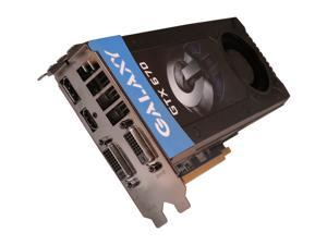 Galaxy GeForce GTX 670 67NPH6DV5ZJX Video Card