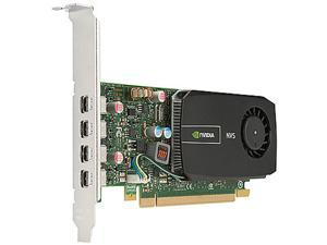HP Quadro NVS 510 C2J98AT 2GB DDR3 PCI Express 2.0 x16 2GB Graphics