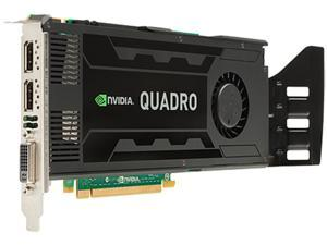 HP Quadro K4000 C2J94AT 3GB 192-bit GDDR5 PCI Express 2.0 x16 Plug-in Card Graph Smart Buy