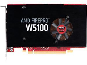 HP FirePro W5100 J3G92AT 4GB 128-bit GDDR5 PCI Express 3.0 x16 Plug-in Workstation Video Card