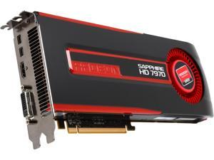 SAPPHIRE Radeon HD 7970 DirectX 11.1 11197-97-90G 3GB 384-Bit GDDR5 PCI Express 3.0 CrossFireX Support Video Card