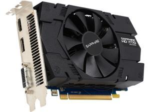 SAPPHIRE Radeon HD 7770 DirectX 12 11201-98-90G 1GB 128-Bit GDDR5 PCI Express 3.0 CrossFireX Support Video Card