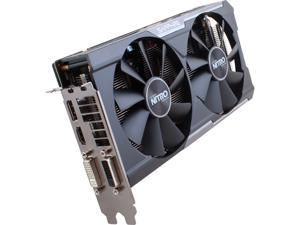 SAPPHIRE NITRO Radeon R9 380X 100383NTOCL 4GB GDDR5 PCI Express 3.0 Dual-X OC Version w/ backplate (UEFI) Video Card