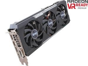 SAPPHIRE NITRO Radeon R9 390X DirectX 12 100381NTOCL 8GB 512-Bit GDDR5 PCI Express 3.0 OC Version w/ backplate (UEFI) Video Card
