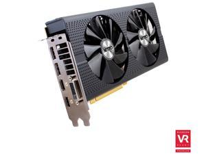 SAPPHIRE NITRO+ Radeon RX 480 DirectX 12 100406NT+4GOCL 4GB 256-Bit GDDR5 PCI Express 3.0 x16 HDCP Ready CrossFireX Support Video Card